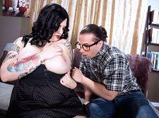 Nerd trainer receives dream bra-buster