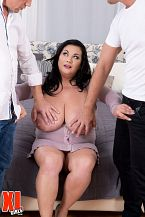 Nila Mason: Likewise Much Femdom-goddess Even For 2 Studs?