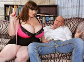 Anorei Collins: Huge Boobs For Hard Cock